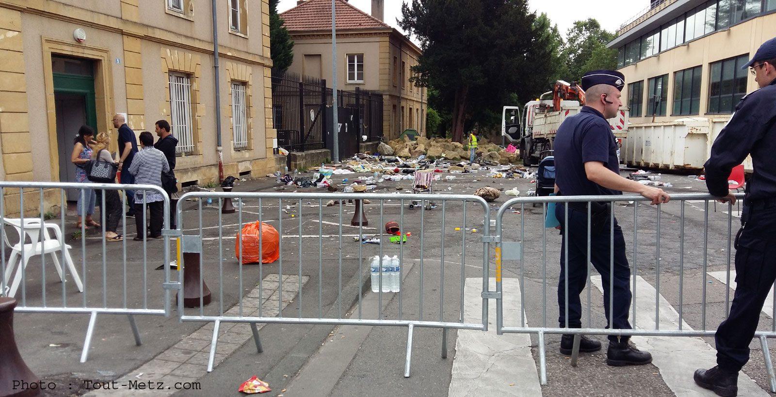 Photo de Le camp de Blida à Metz démantelé et relocalisé cette semaine