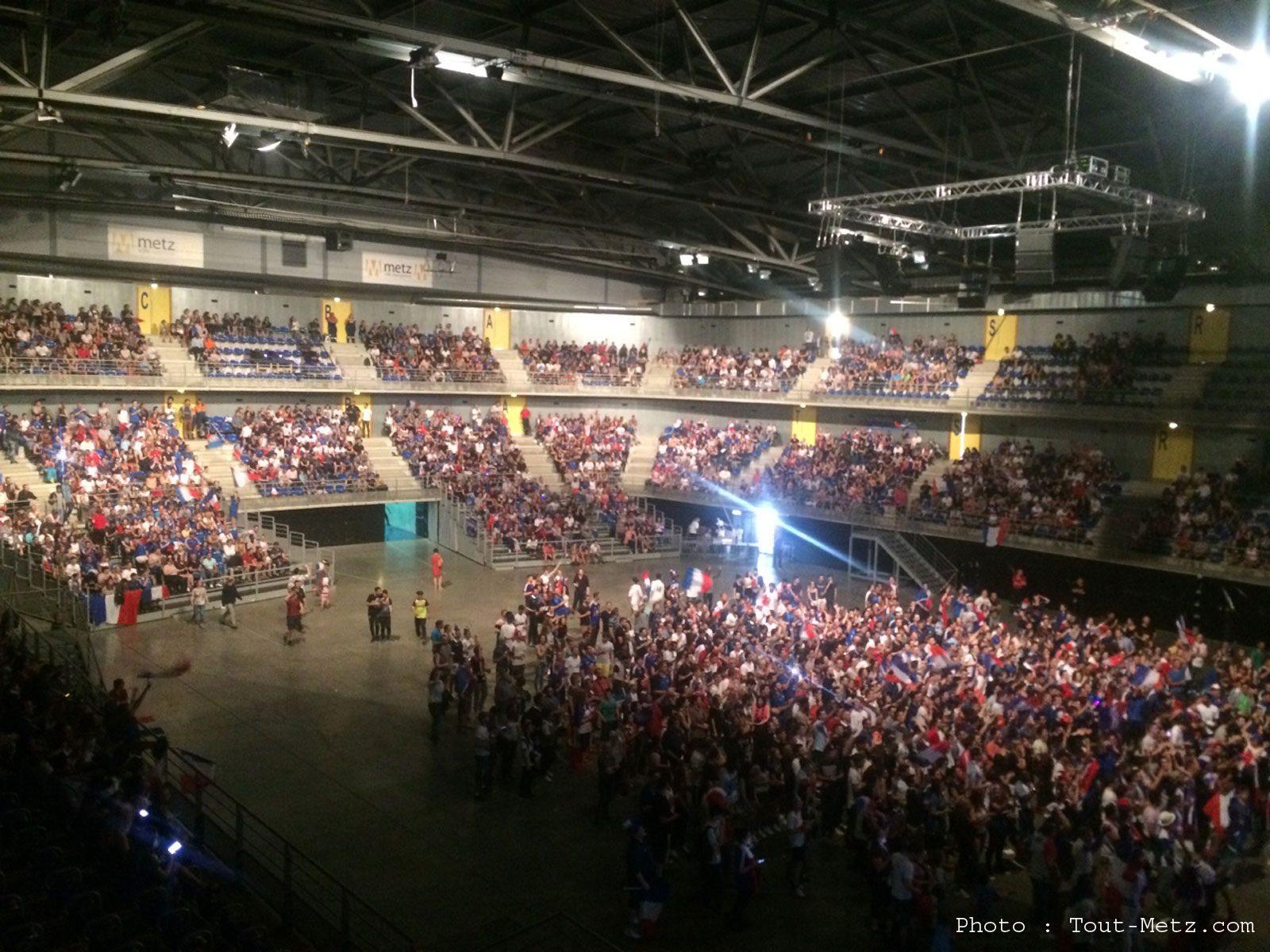 La finale France – Portugal diffusée aux Arènes de Metz