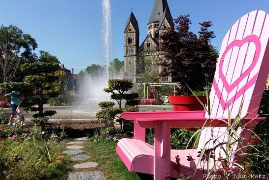 Jardin éphémère à Metz : un mini poumon vert à découvrir en photos