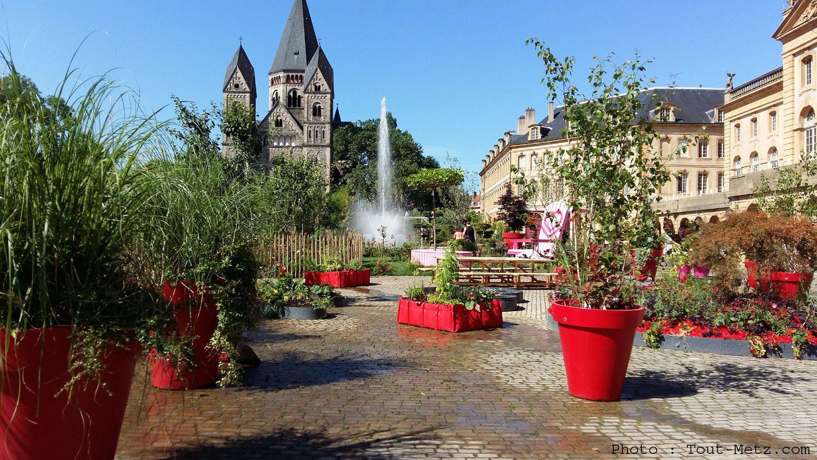 Jardin ephemere metz 7 tout metz for Jardin fabert metz