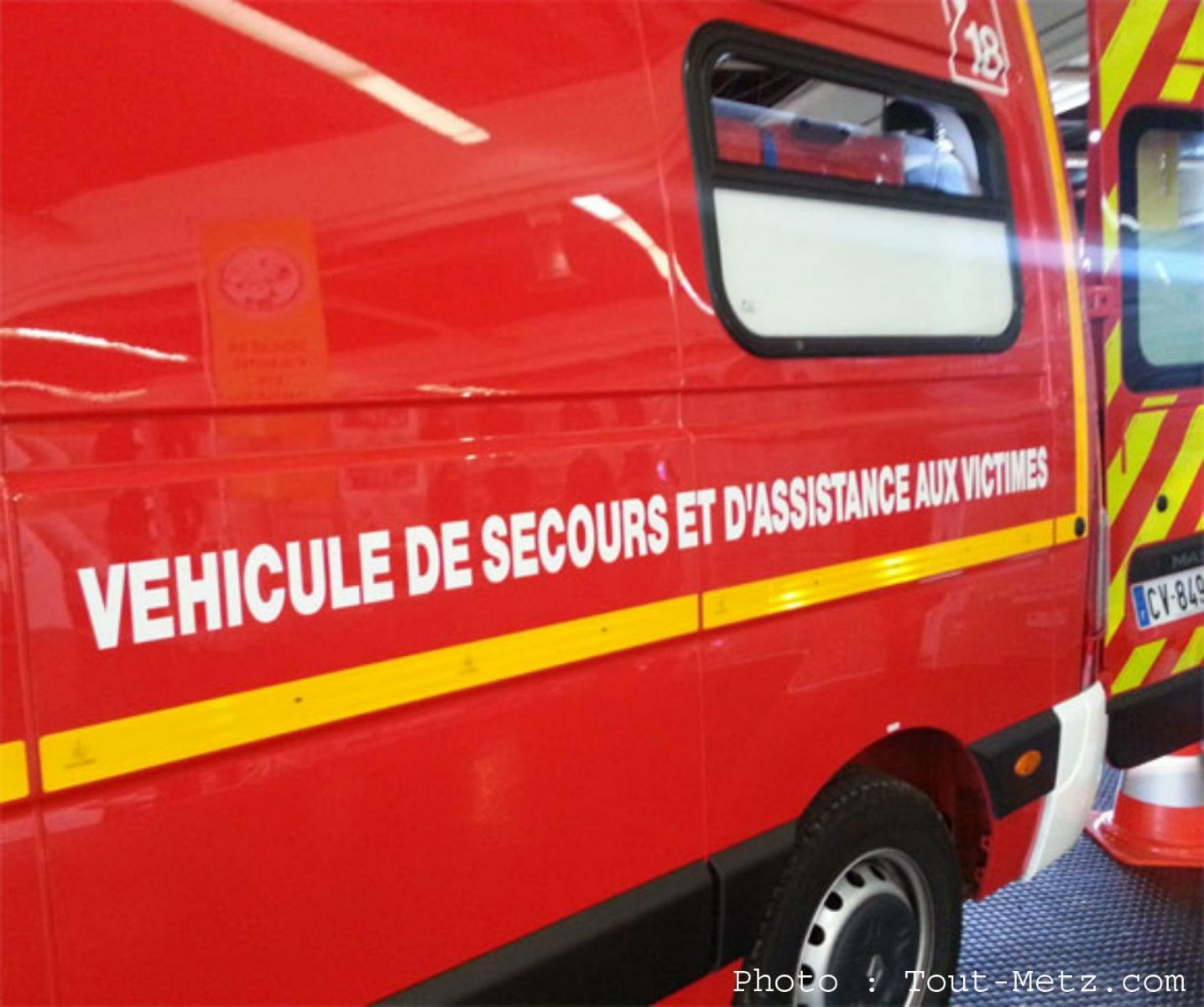Incendie dans une carrosserie à Marly : 2 blessés graves