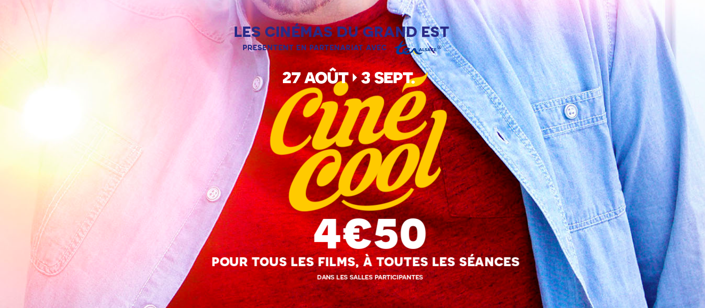 Photo de Ciné-Cool 2016 : la place à 4,50€ dans les cinémas en Lorraine