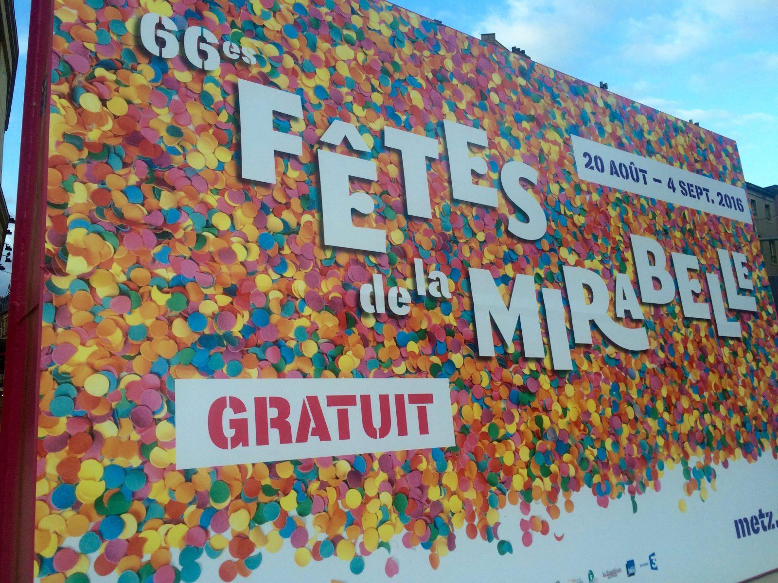 Photo de Metz : Fêtes de la Mirabelle, les rendez-vous à ne pas manquer !