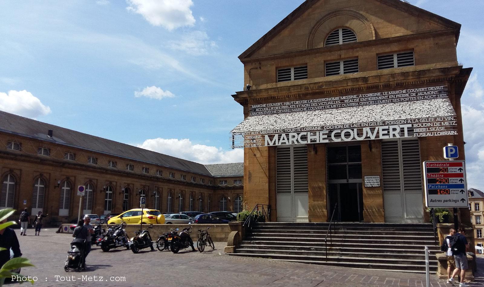 Les marchés reportés ou fermés à Metz le 11 novembre et pendant les fêtes de Noël