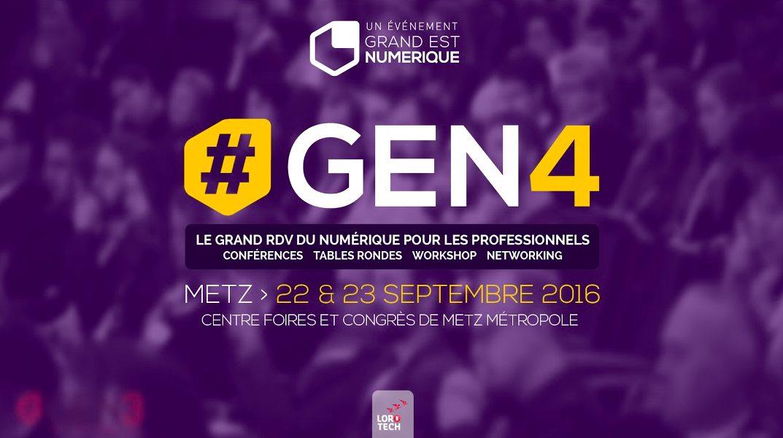 Photo of #GEN4, c'est la semaine prochaine. Pourquoi aucun professionnel ne devrait manquer cet événement ?