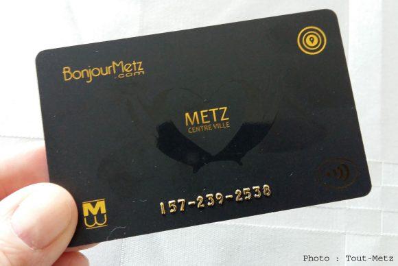 La carte Bonjour Metz disponible gratuitement dans les 165 commerces participants dès le 1er octobre 2016