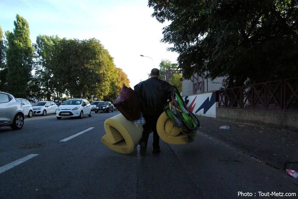 Metz : le camp de Blida et ses 250 demandeurs d'asile déplacés de 500 mètres (audio)