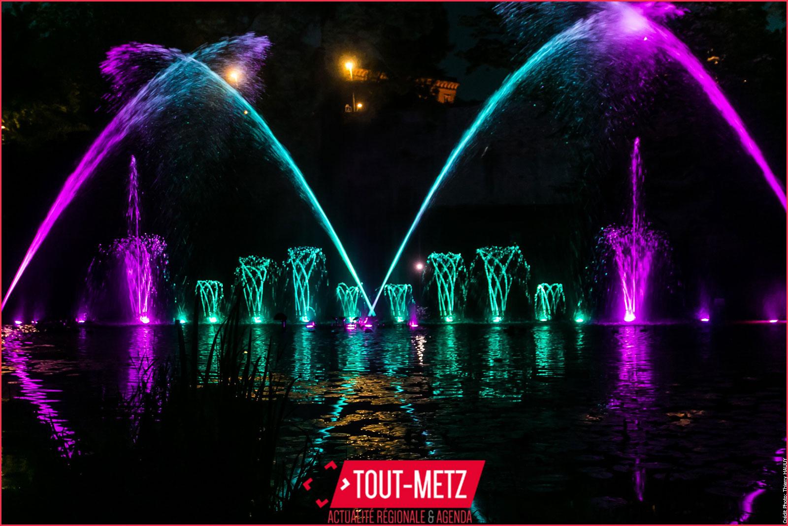 Metz : les fontaines dansantes de retour cet été