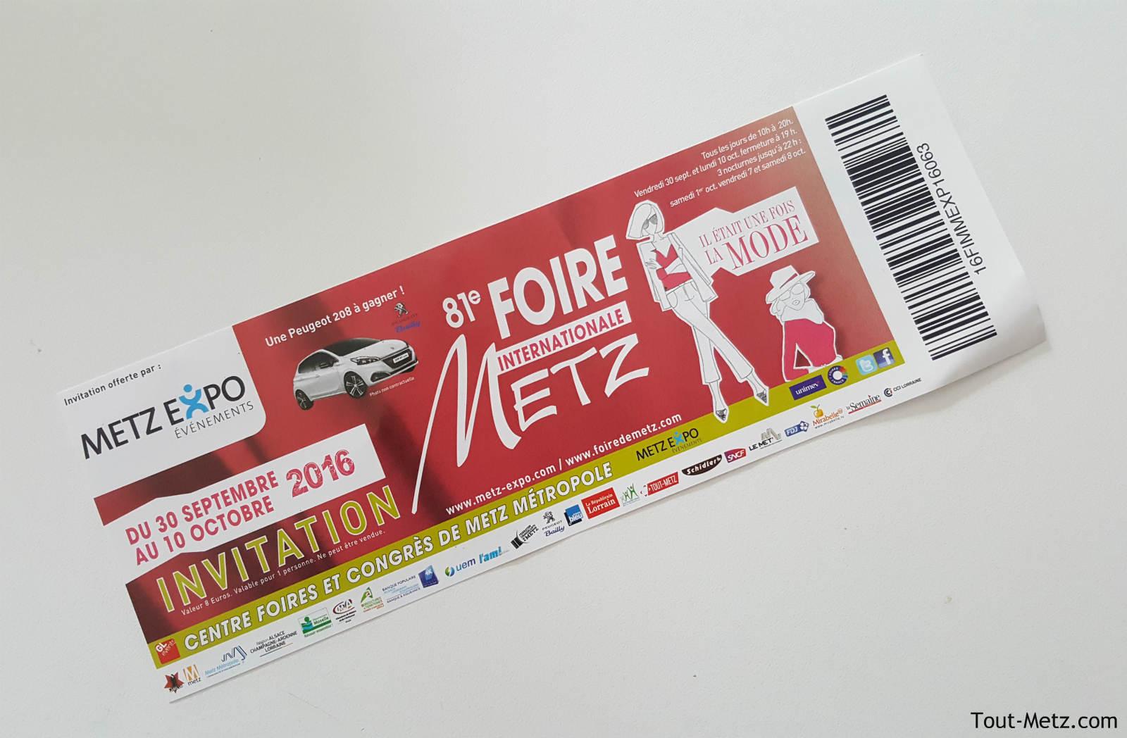 Gagnez vos places à la FIM 2016 avec Tout-Metz !