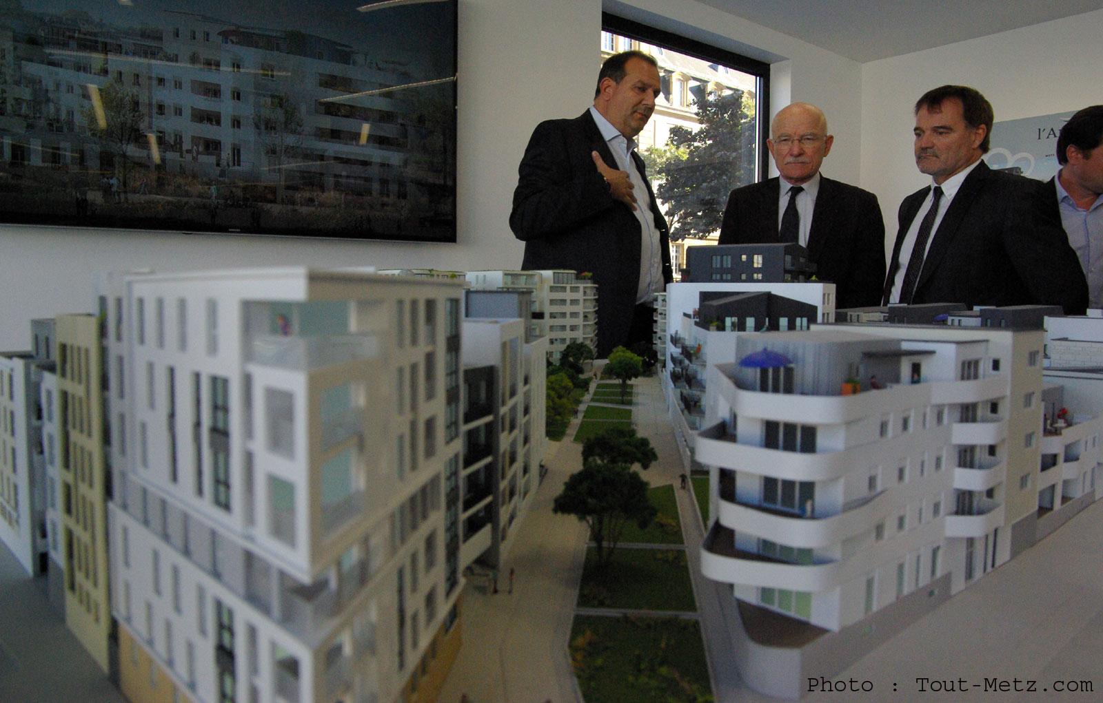 Metz : une maquette détaillée dévoile les logements qui remplaceront Bon-Secours (photo et vidéo)