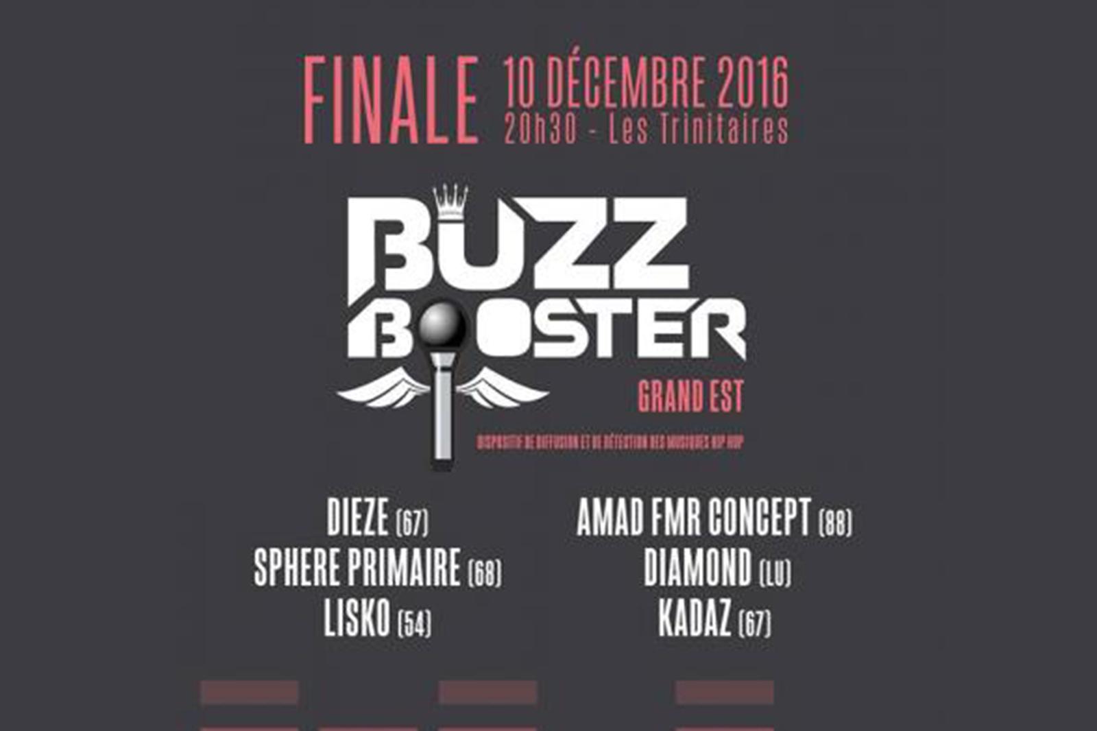 Photo de Concours Hip-Hop Buzz Booster : une finale à Metz