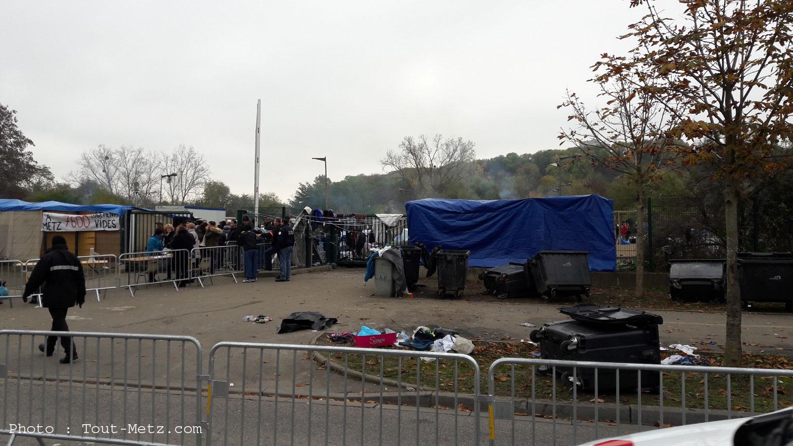 Metz : le camp de Blida accueille à nouveau des demandeurs d'asile