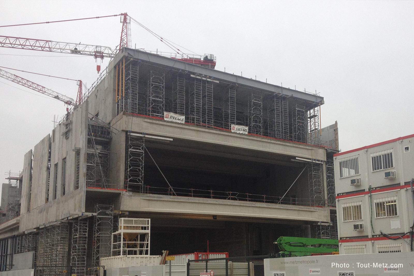 Visite de l'intérieur du Centre des Congrès de Metz : 1ères images après 10 mois de travaux