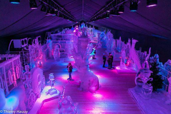 La féerie des glaces accueille 80 sculptures géantes