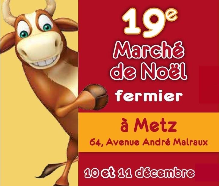 Photo of Le Marché de Noël Fermier à Metz, c'est ce week-end