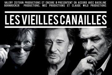 Jacques Dutronc, Johnny Hallyday et Eddy Mitchell réunis sur la scène du Galaxie