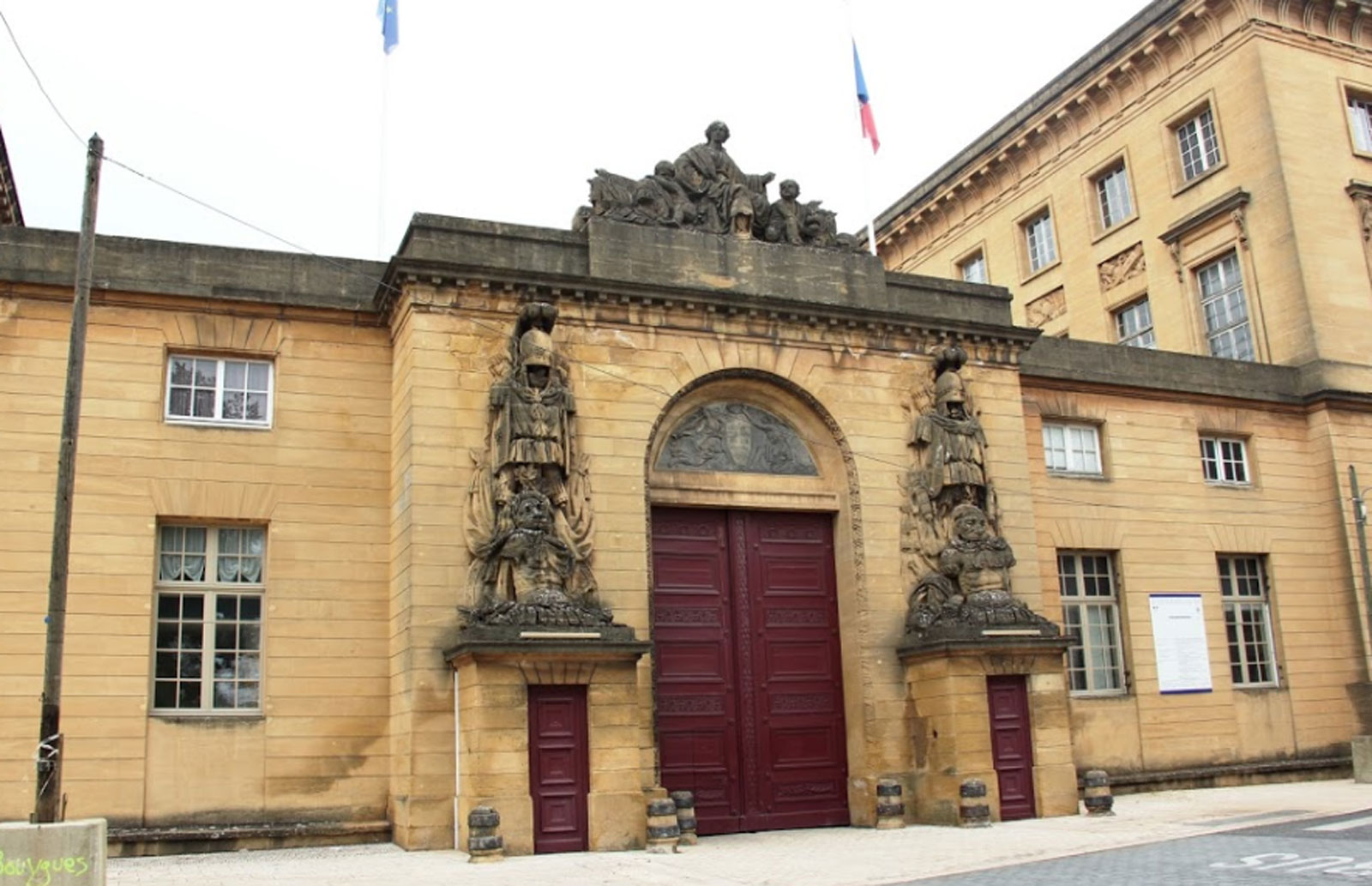 Photo of Le tribunal de Metz bloqué jusqu'au jeudi 5 octobre