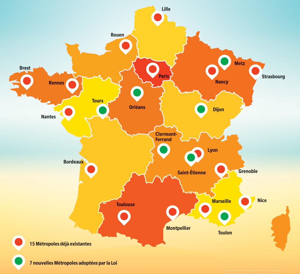 """Photo de Metz """"vraiment"""" Métropole, un statut officiel qui change les équilibres en Moselle"""