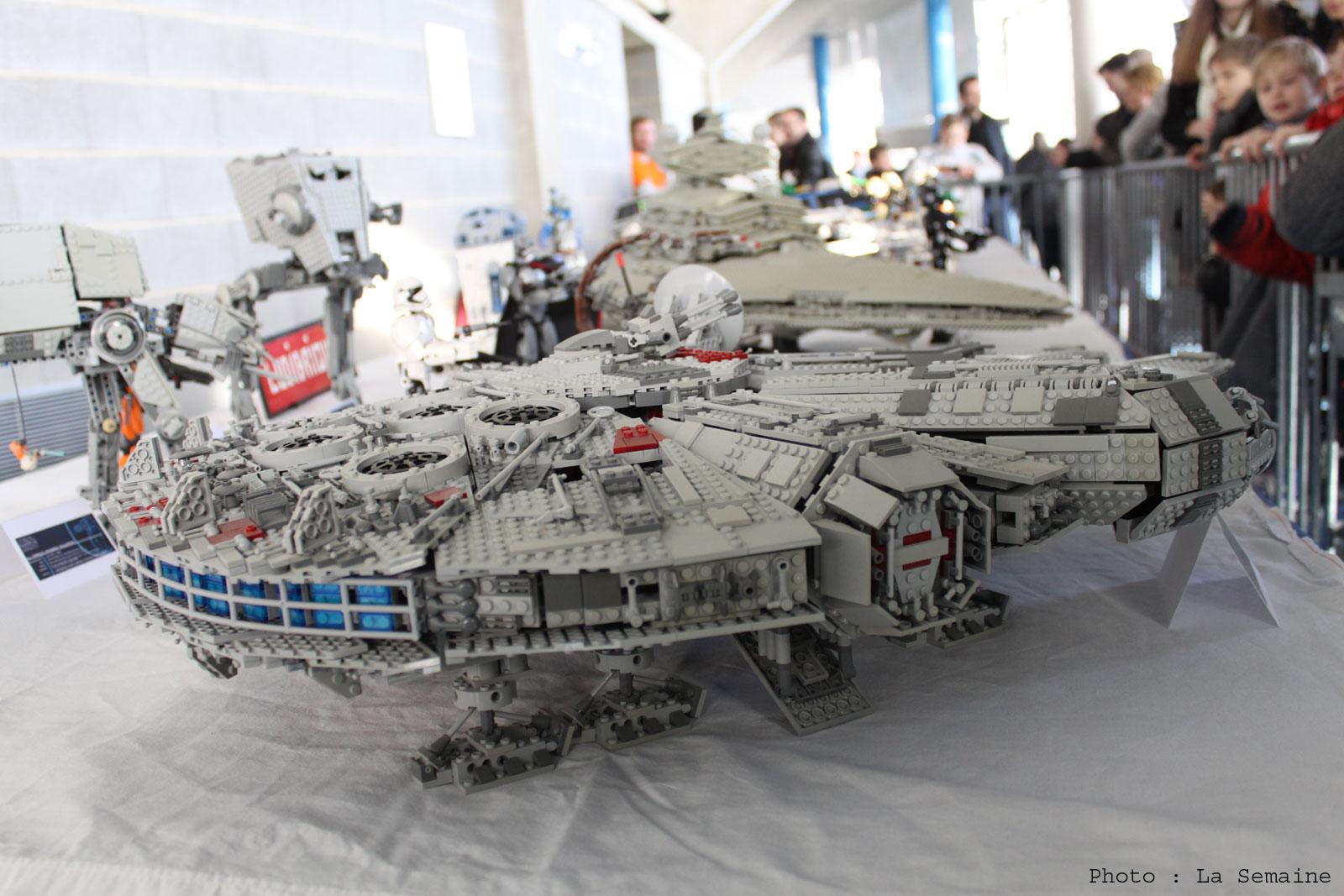 Exposition 100% lego à Metz : retour en images sur la 1ère journée