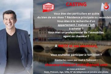 L'émission Chasseurs d'Appart' avec Stéphane Plaza lance un casting à Metz