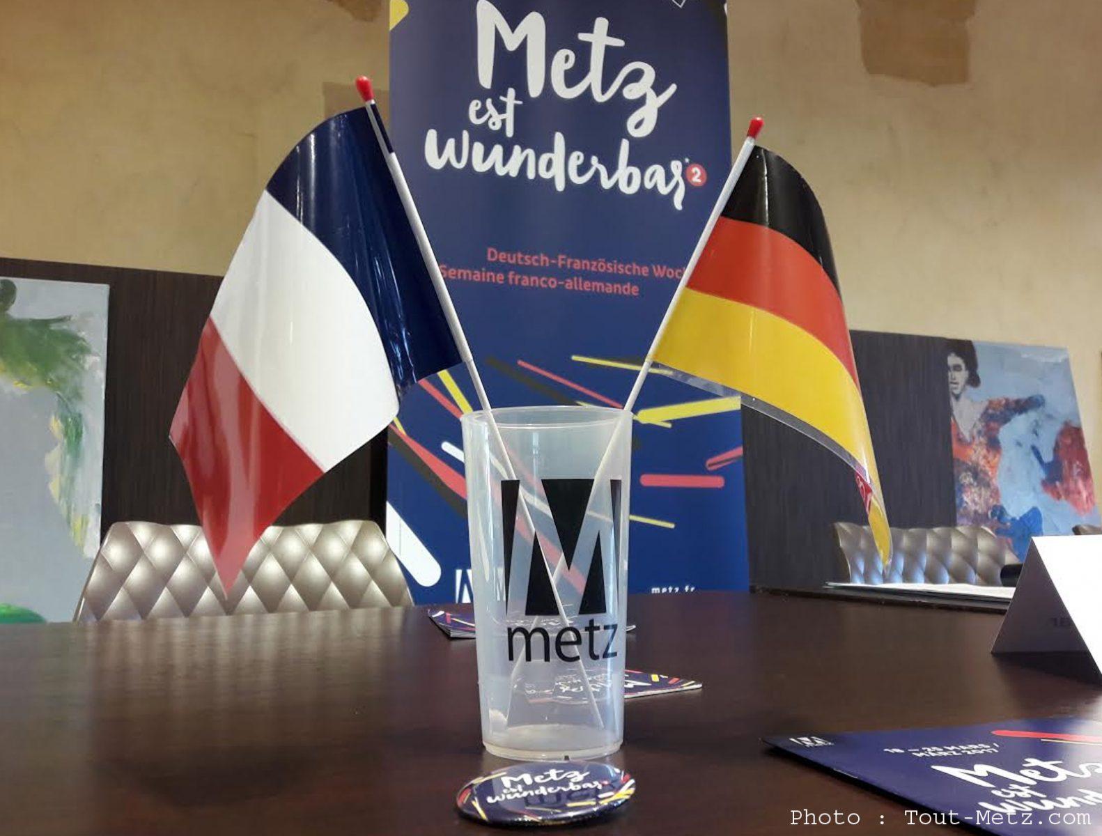 Metz est Wunderbar : au programme, 50 événements franco-allemands