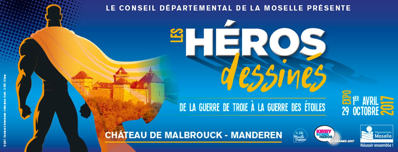 Moselle : les Héros dessinés s'exposent au Château de Malbrouck