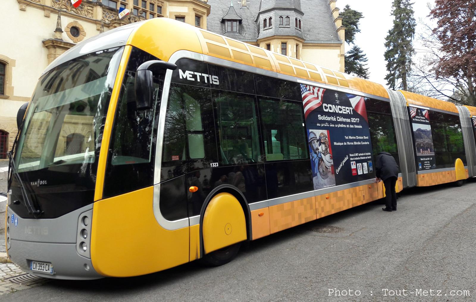 Photos : un nouveau Mettis dans les rues de Metz