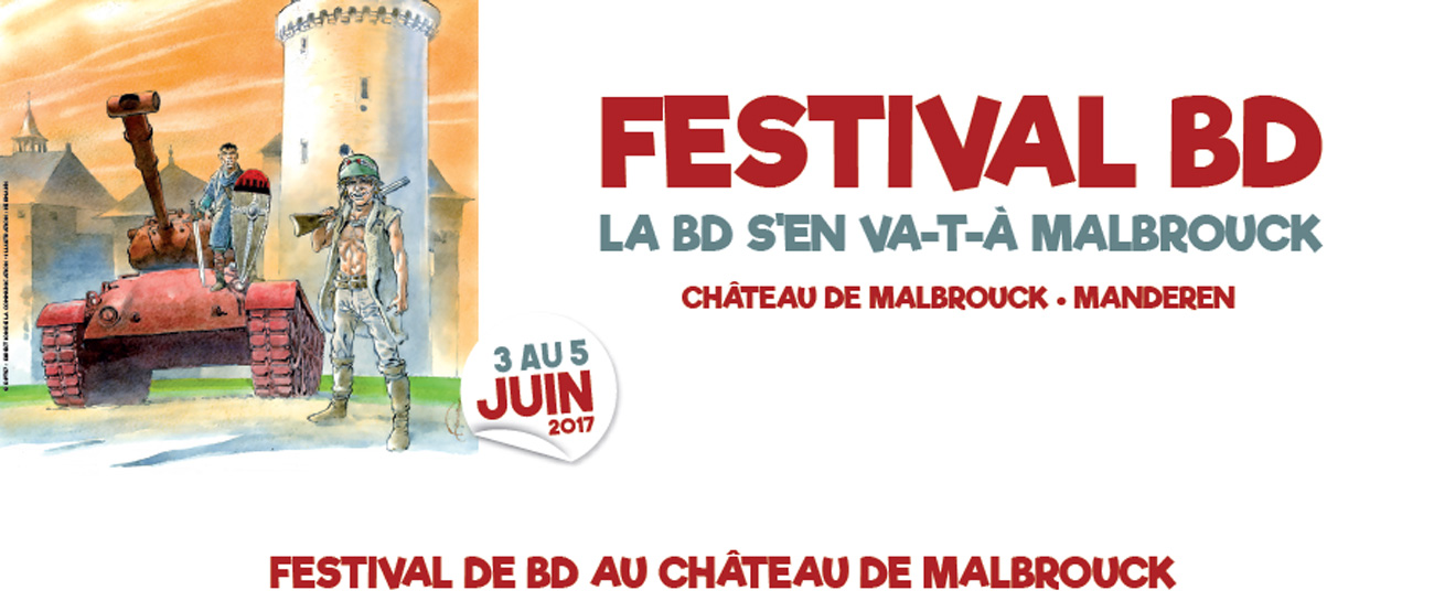 Manderen : la BD à l'honneur au Château de Malbrouck