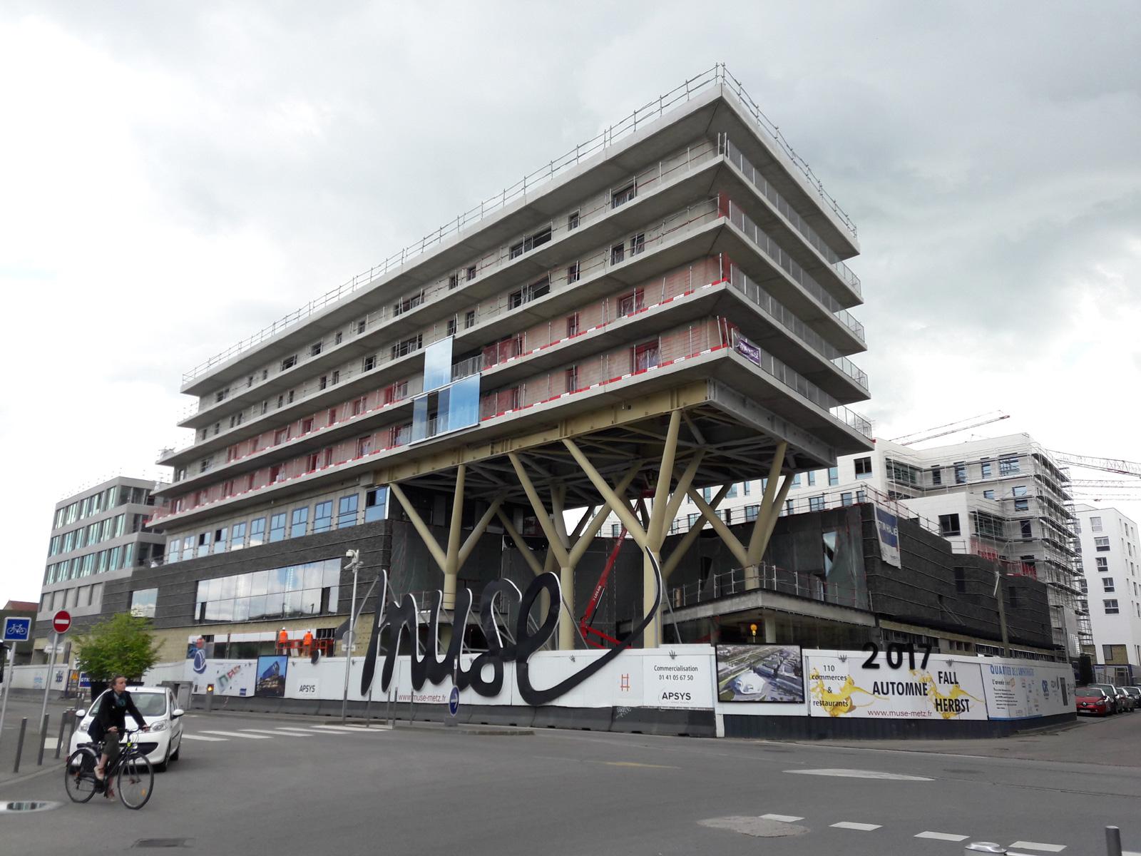 J-20 avant l'ouverture de Muse à Metz, mais sans Primark qui accuse du retard