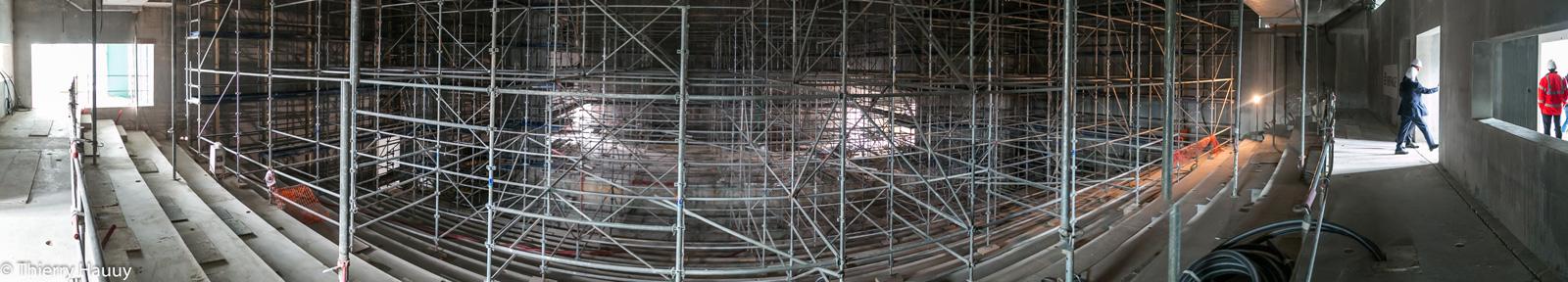 Photos du Centre des Congrès à Metz après 14 mois de travaux