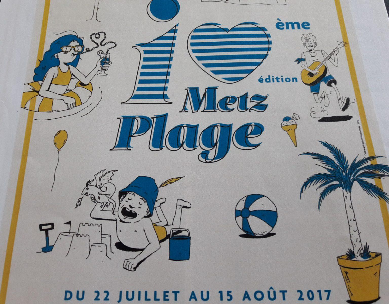 Metz Plage 2017 : les grands rendez-vous et nouveautés à ne pas manquer