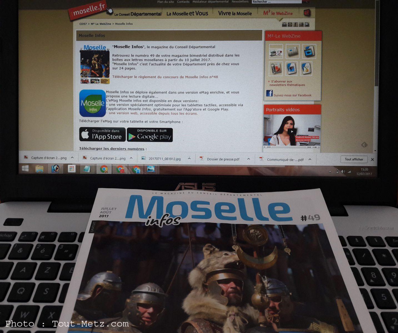 Le magazine Moselle infos «spécial été» vient de sortir en version numérique