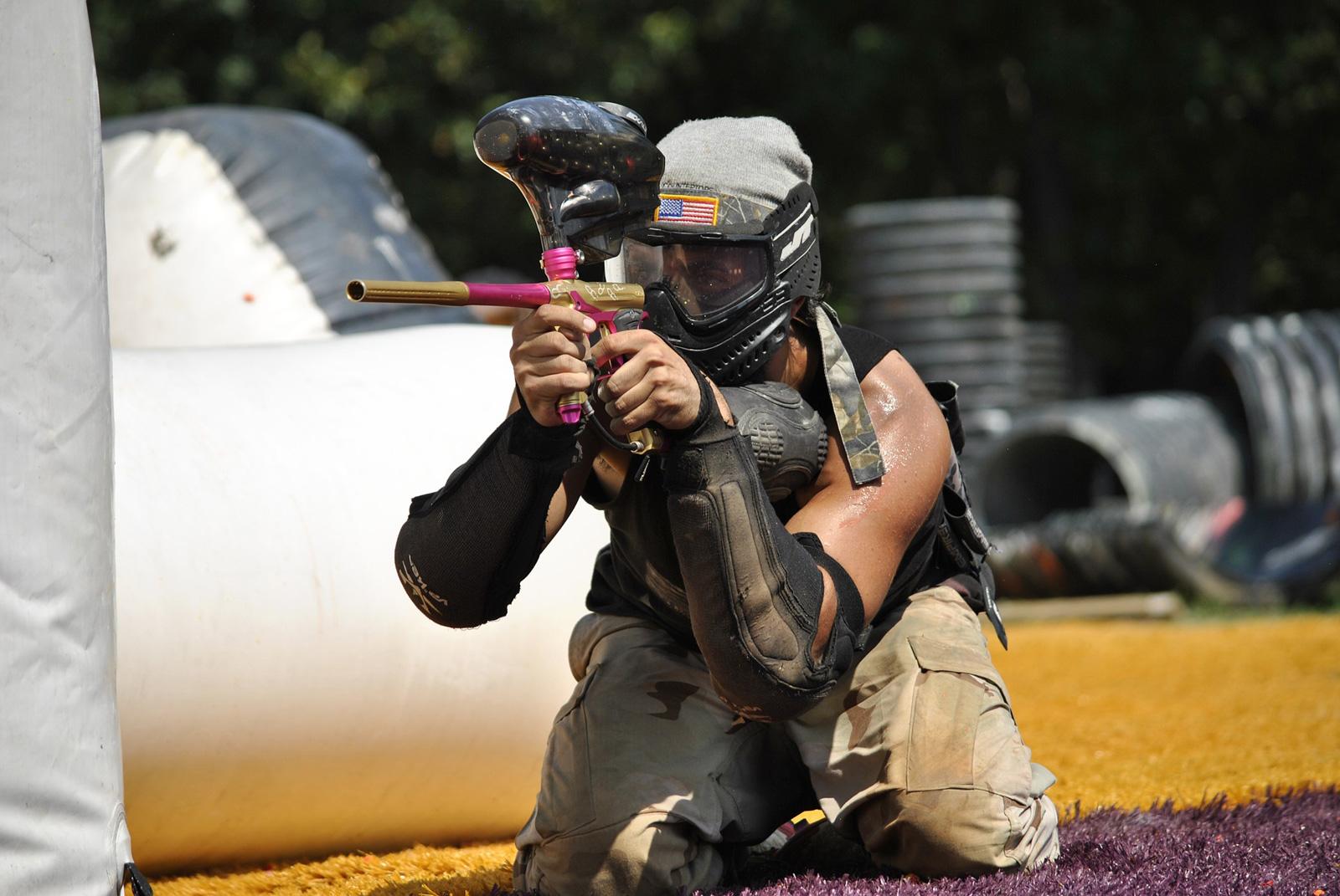 Veckring : 1 000 férus de paintball s'affrontent
