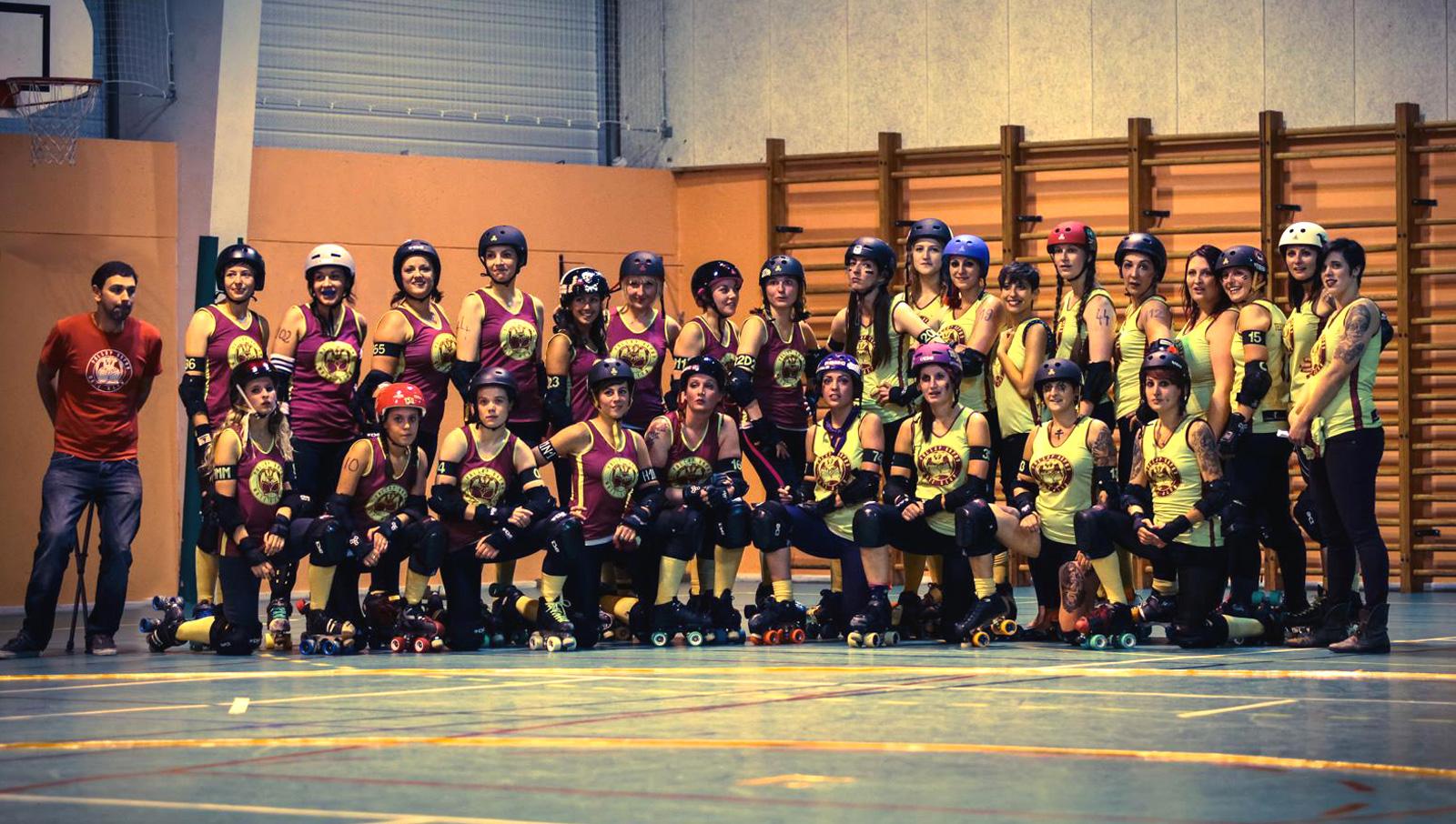 Roller derby à Metz : un sport qui recrute
