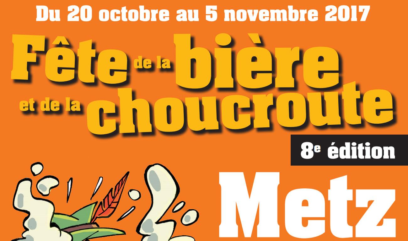 La Fête de la bière et de la choucroute revient à Metz