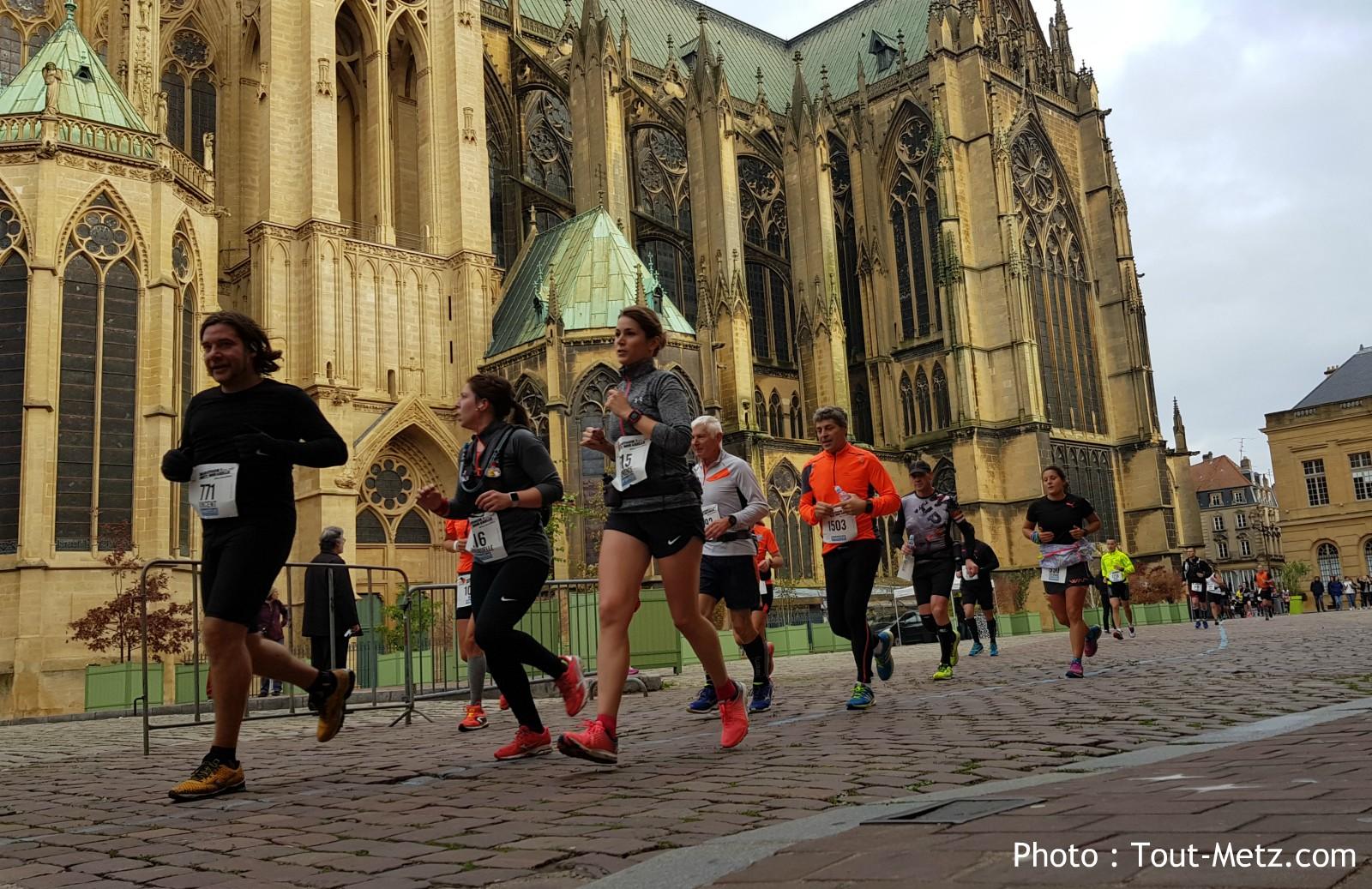 Vidéo : le marathon de Metz 2017 vu depuis l'oeil d'un drone