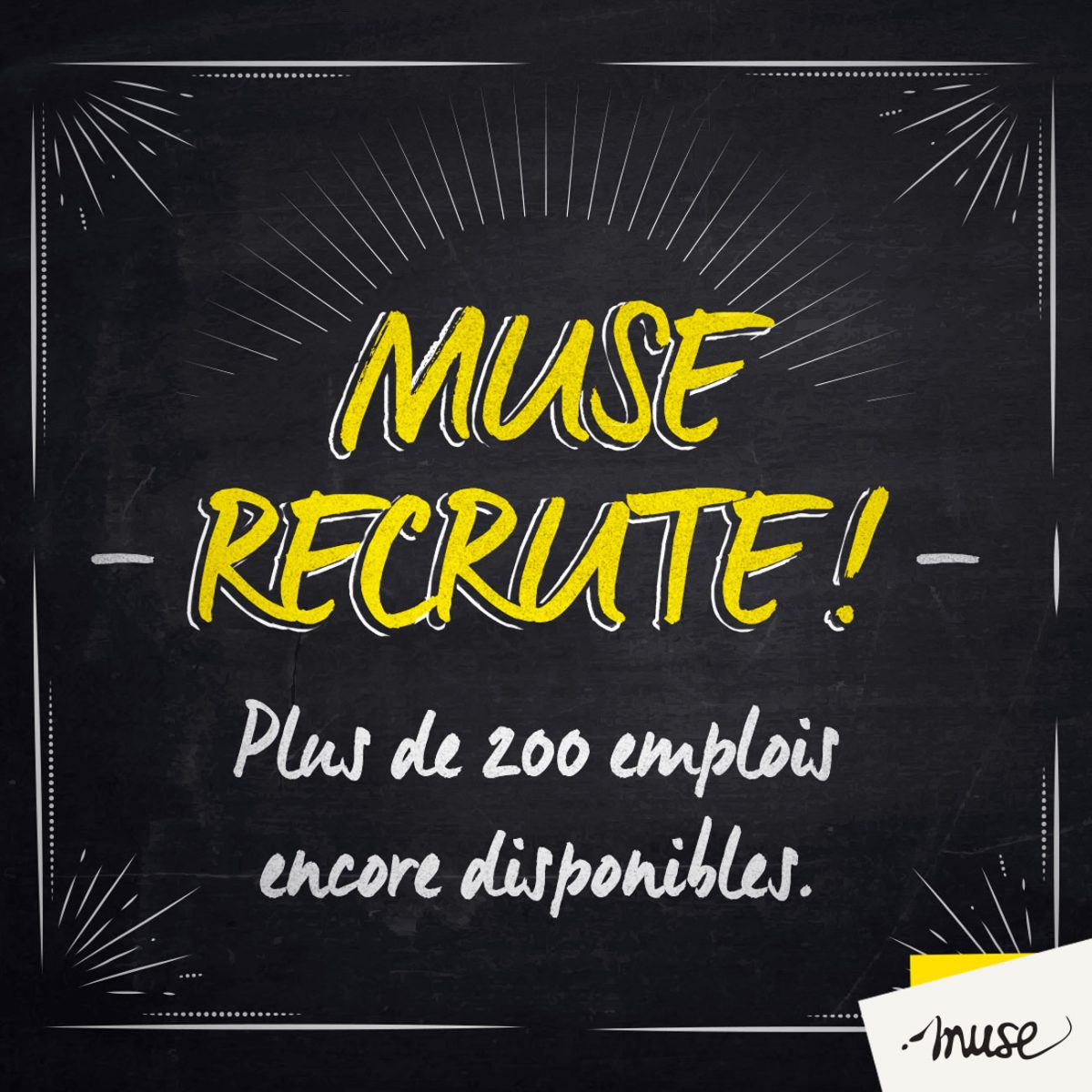 Metz : Muse recrute encore