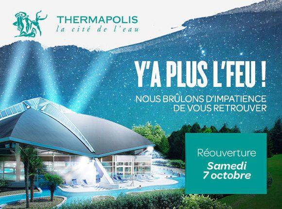 Reouverture Du Thermapolis A Amneville Le 7 Octobre 2017