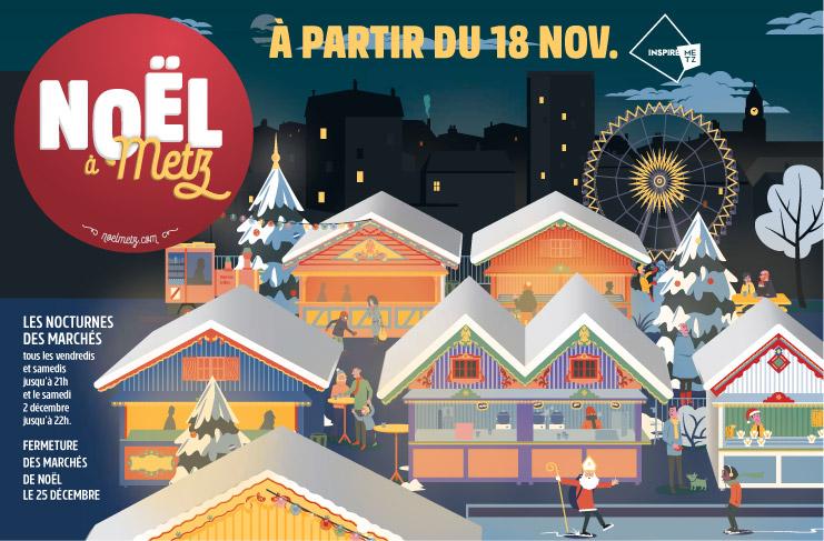Marchés de Noël à Metz : les nouveautés de l'édition 2017