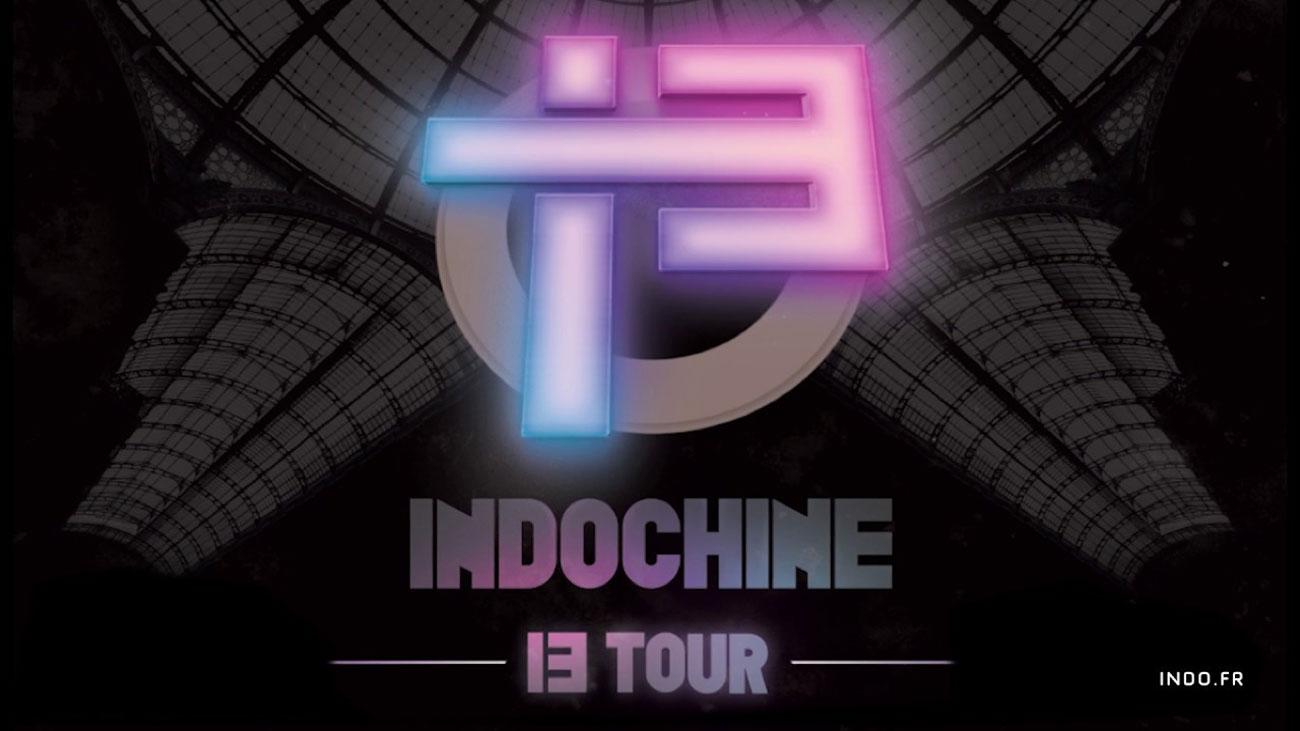 Photo of Indochine en concert à Nancy en 2018