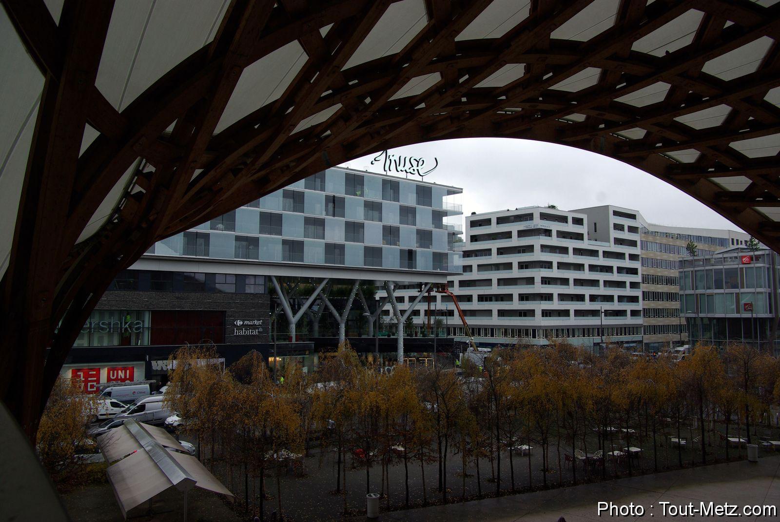 Photo of Metz : Zara et Stradivarius s'installent au centre commercial Muse