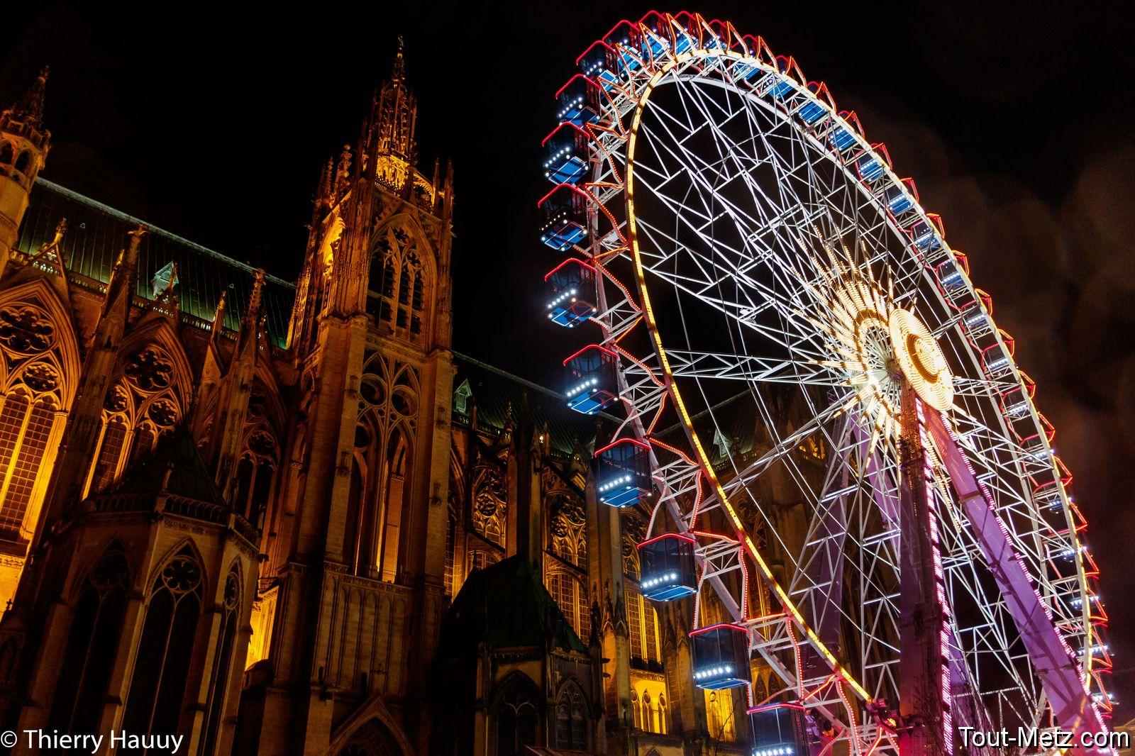 Marche Metz illuminée : une balade nocturne dans le cœur de la ville