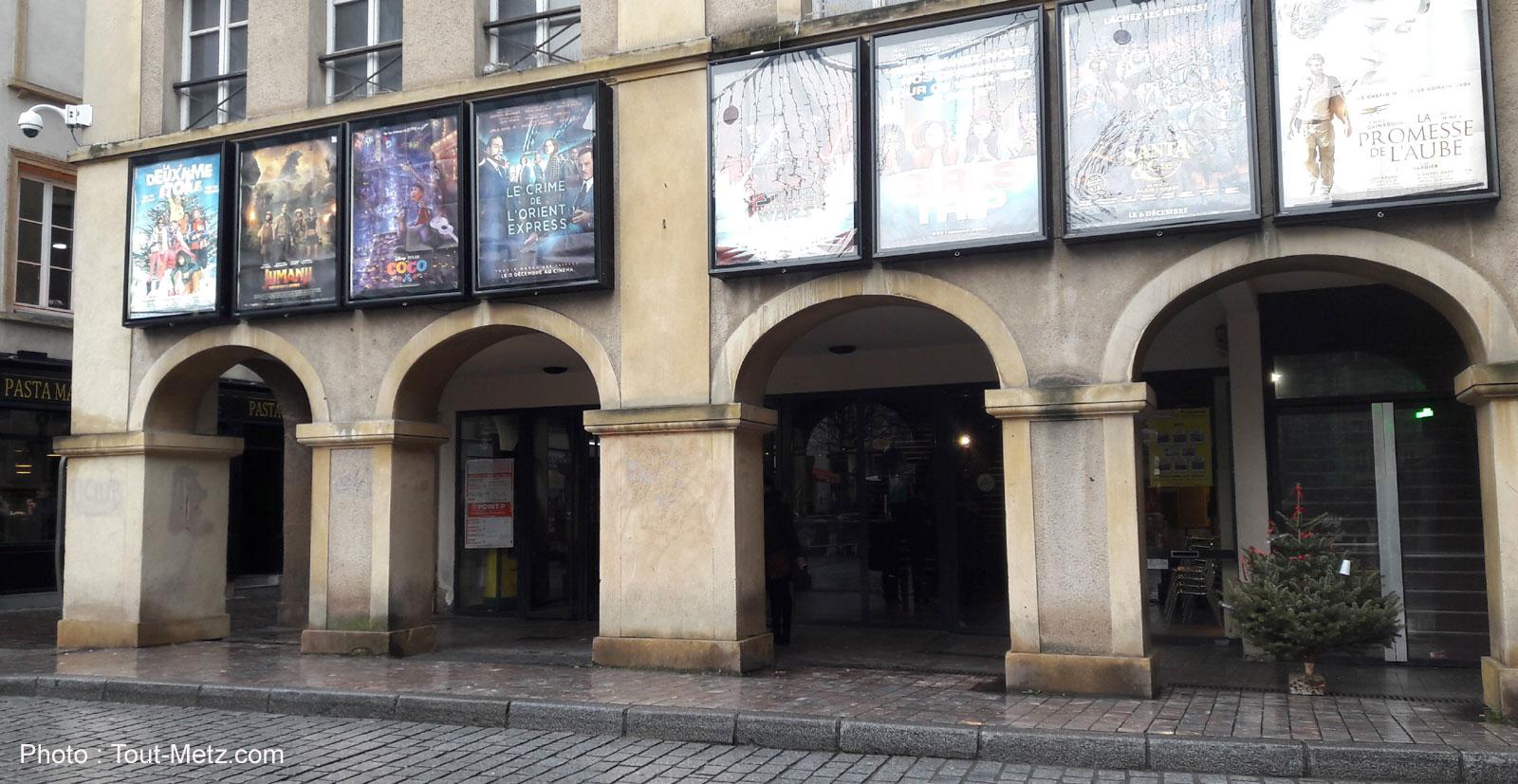 Photo of Dernière séance pour le cinéma Palace à Metz, avant 6 mois de travaux