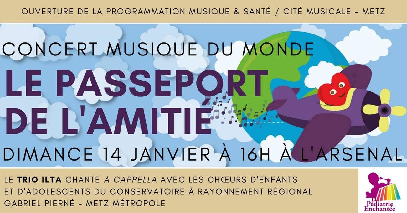 Metz : 120 jeunes choristes en concert pour «Le Passeport de l'amitié», un projet pour les enfants hospitalisés