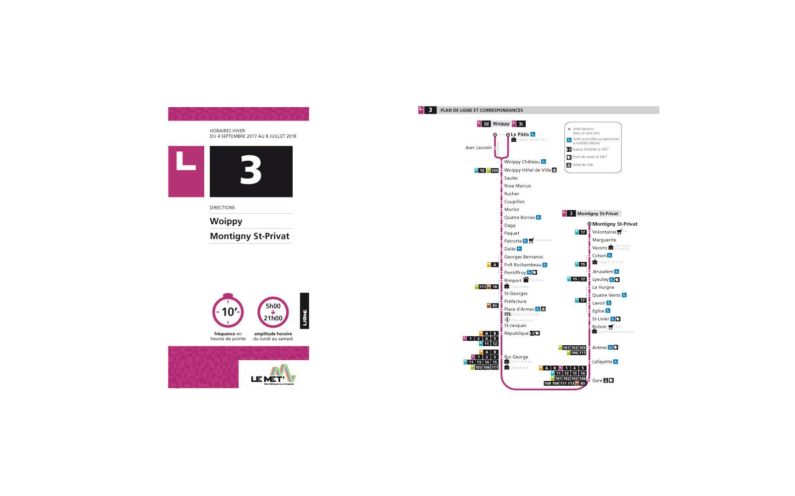 Metz : les bus de la Ligne 3 ne passeront plus dans le centre piétonnier