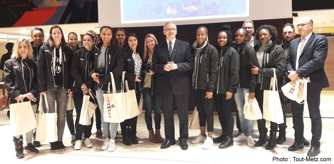 Metz : cérémonie pour les messines championnes du monde de handball
