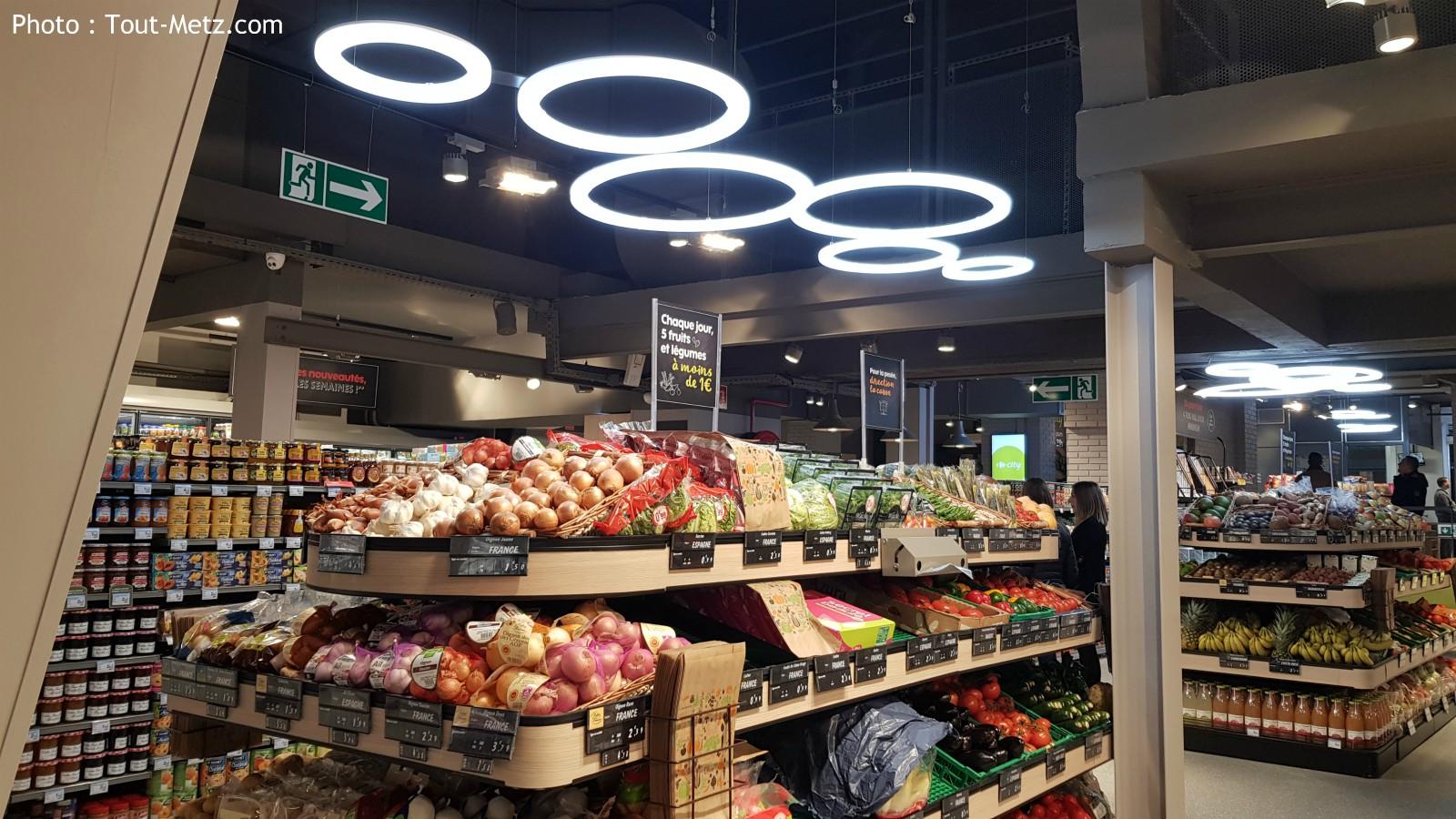 Commerce : le Carrefour City à Metz centre s'installe