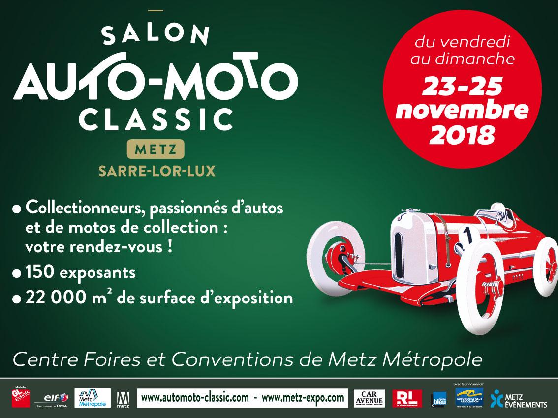 Photo of Un salon de l'auto – moto à Metz en novembre 2018
