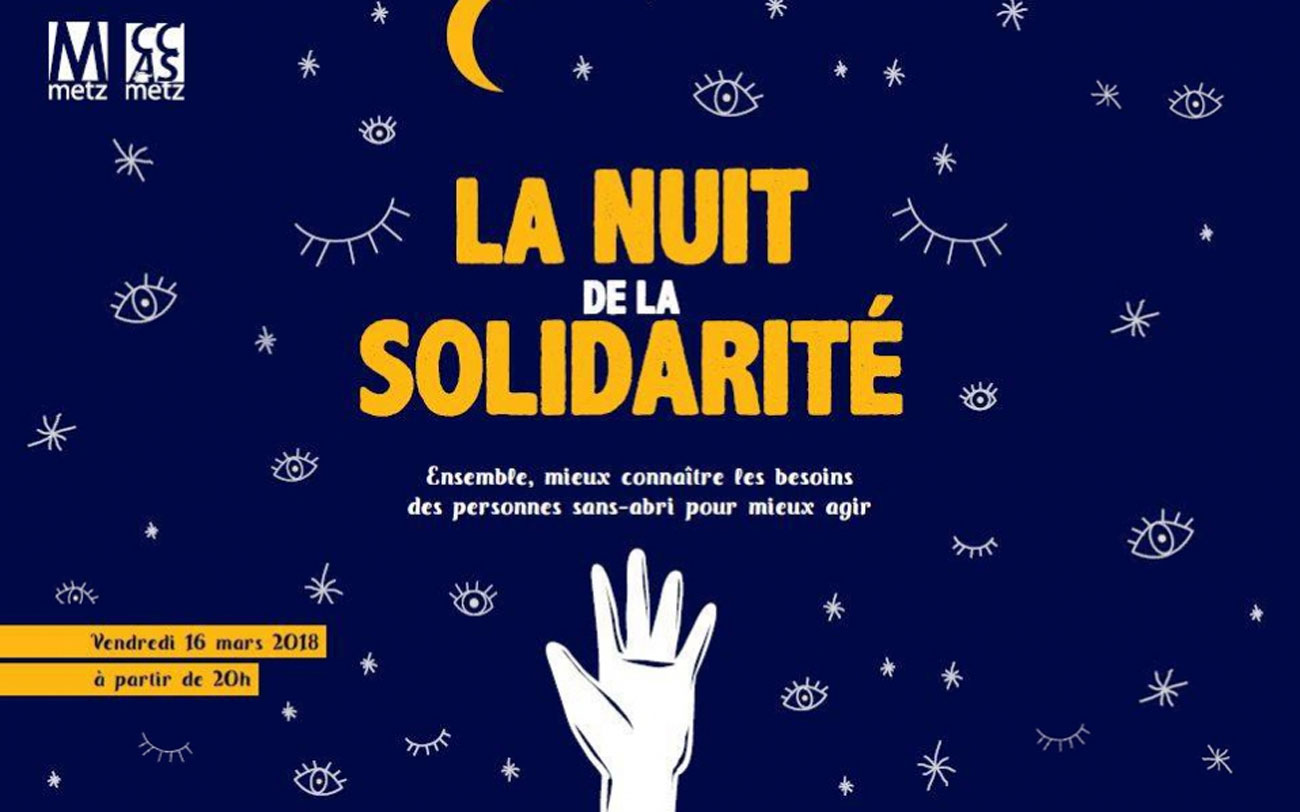 Plus de 300 bénévoles dans les rues pour la Nuit de la solidarité à Metz