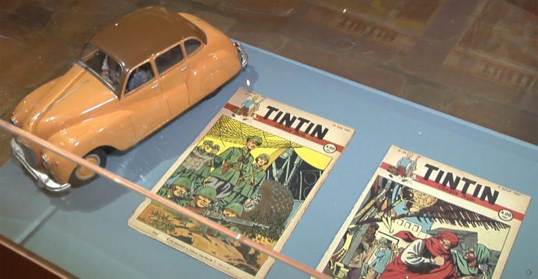 """Photo de """"Les 70 ans du Journal Tintin"""" : la nouvelle exposition du Château de Malbrouck"""